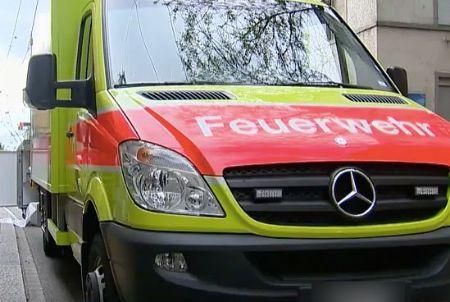 Utzenstorf BE – Brand in Mehrfamilienhaus, einen Bewohner ins Spital gebracht