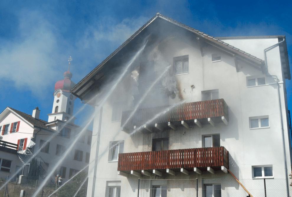 Luthern LU – Wohnhaus in Brand geraten