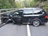 Lungern OW - Brünig nach Verkehrsunfall gesperrt