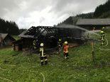 Lungern OW - Alphütte in Brand geraten