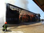Amlikon-Bissegg TG - Angestellter (24) bei Scheunenbrand verletzt
