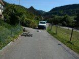 Rothenfluh BL - 14-jähriger Fahrradfahrer bei Unfall erheblich verletzt
