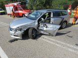 Aarburg AG - Verkehrsunfall vor Paradiesli-Tunnel