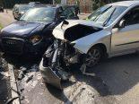 Unfall in Thun BE - Frontalkollision zwischen zwei Autos