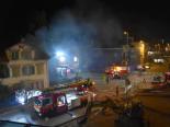Wil SG - Polizei rettet Frau aus brennendem Haus