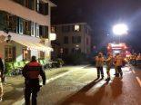 St.Gallen SG - Schwerverletzter bei Wohnungsbrand