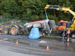 Unfall in Oensingen
