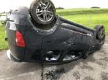 Rueyres-Treyfayes FR - Alkoholisierter Lenker zieht Unfallauto über die Fahrbahn