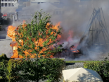 Aarau AG - Restaurant GoWest durch Brand komplett zerstört