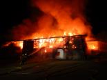 Frauenfeld TG - Stallgebäude vollständig niedergebrannt