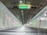 A5, Brügg BE - Auffahrunfall im Längholztunnel