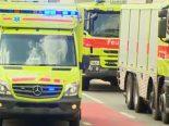 Basel BS - 27-jährige Frau bei Brand verletzt