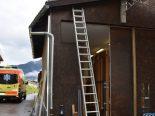 Cumbel GR - Mann stürzt von Leiter