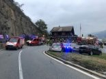 Martinach-Combe VS - Verkehrsunfall fordert ein Todesopfer