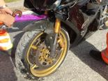 Mühlehorn GL - Motorradfahrer nach Selbstunfall verletzt