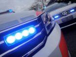 St.Gallen SG - Autofahrer fährt auf Trottoir und geht Personen an