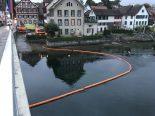 Stein am Rhein SH - Unbekannte Substanz im Rhein