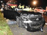 Henau SG - Selbstunfall auf der Autobahn A1