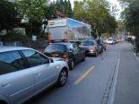 Neuhausen am Rheinfall SH - Unfall mit vier Autos