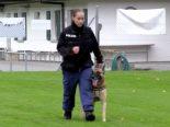 Solothurn SO - Training der Sondergruppe der Diensthundeführer