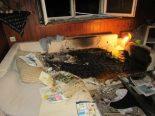 Ennenda GL - Wegen Brandstiftung verhaftet