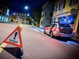 Verkehrsunfall Schmitten FR - Lenker verweigert Vortritt und fährt davon
