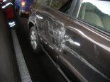 Andermatt UR - Verkehrsunfall zwischen Auto und Lastwagen