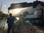 Leytron VS - Autowrack in der Rhone gefunden