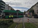 Basel BS - 17 Verletzte nach Tram-Unfall im Spital