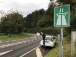 Zürich ZH - Bettler bei Autobahneinfahrten