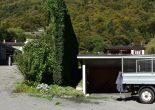 Arbeitsunfall in Grono GR - Mann stürzt von Garage
