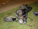 Boswil AG - Motorradfahrer (25) fährt aggressiv und verunfallt