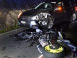 Ermenswil SG - Lenker (18) nach Motorradunfall ins Spital geflogen