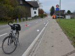 Unfall Hombrechtikon ZH - Velofahrerin schwer verletzt