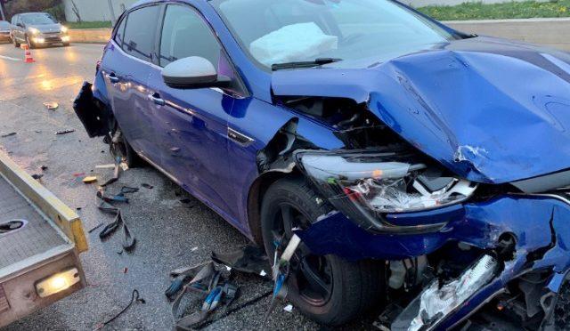 Unfall A2 Basel BS - Zwei Verletzte - Autobahn gesperrt