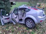 Unfall Auenstein AG - Mit Kind im Auto in Baum geprallt
