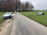 Unfall Wohlen AG - Neulenker prallt in parkierten Porsche