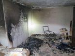 Liestal BL - Zwei Personen nach Brand hospitalisiert