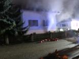 Dottikon AG - Brand in Keller von Einfamilienhaus