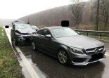 Unfall J15 Schaffhausen/Herblingen - Vier Verletzte bei heftiger Auffahrkollision