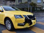 Unfall Chur GR - Arosabahn erfasst Personenwagen