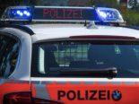 Bern BE - Wasserwerfer-Einsatz bei unbewilligter Demo