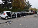 Oensingen SO - Auffahrunfall mit vier Fahrzeugen