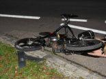 Oberbüren SG - Strassensperrung nach Unfall