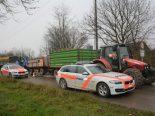 Niederwil TG - Grosskontrolle landwirtschaftlicher Fahrzeuge