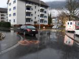 Unfall Chur GR - Fahrradfahrerin mit Auto kollidiert