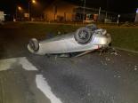 Selbstunfall Muri AG - Lenker (18) unter Drogeneinfluss mit Auto überschlagen