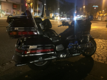 Unfall Birsfelden BL - Lenker fährt absichtlich auf Heck von Motorradfahrer