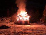 Zermatt VS - Erheblicher Sachschaden bei Chaletbrand