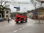 Unfall Winterthur - Velofahrerin von Baumaschinenfahrzeug überrollt